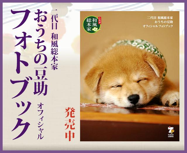 二代目 和風総本家 おうちの豆助 オフィシャルフォトブック